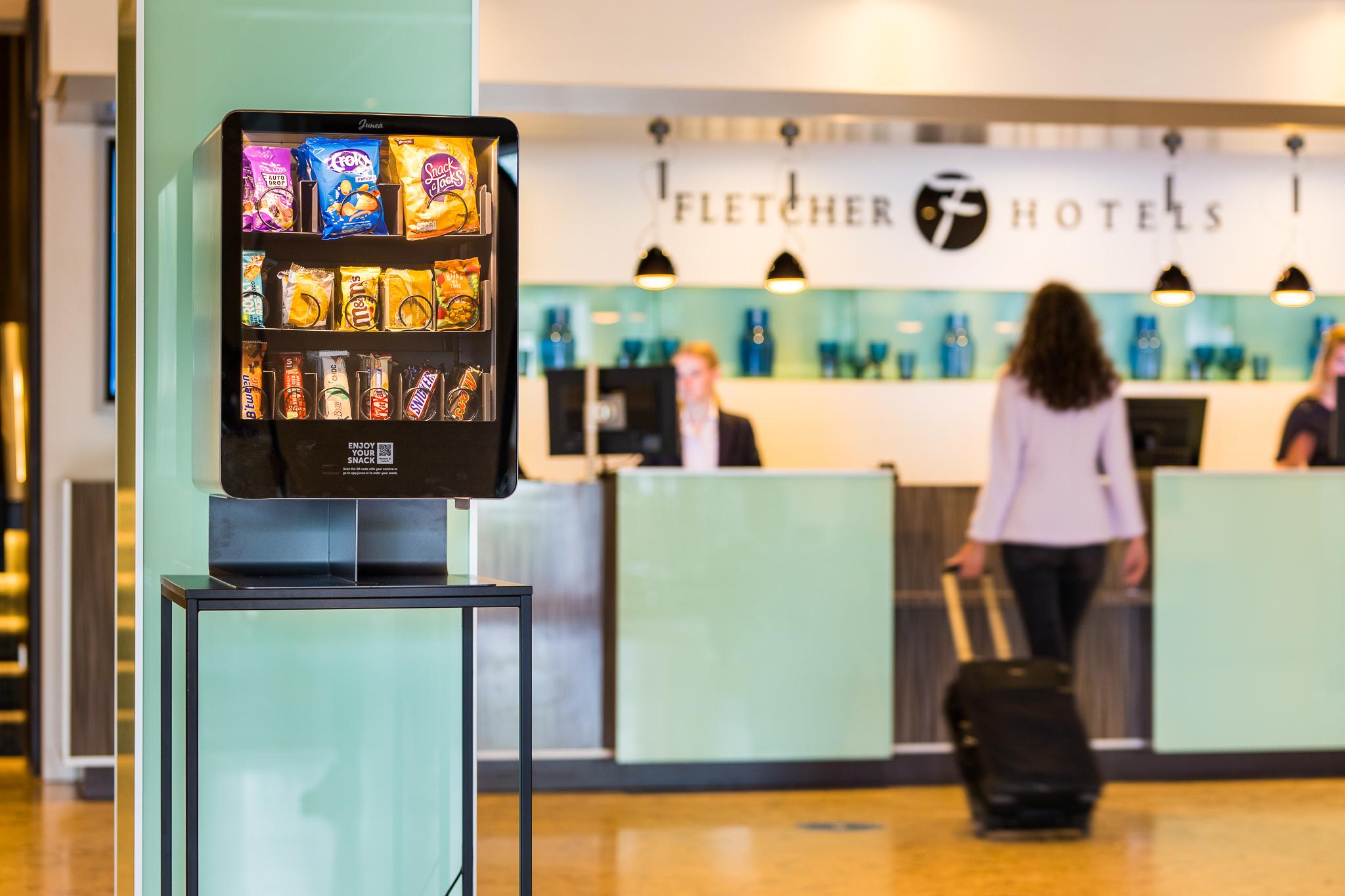 Fletcher Hotels breidt catering uit met selfservice automaten van Junea